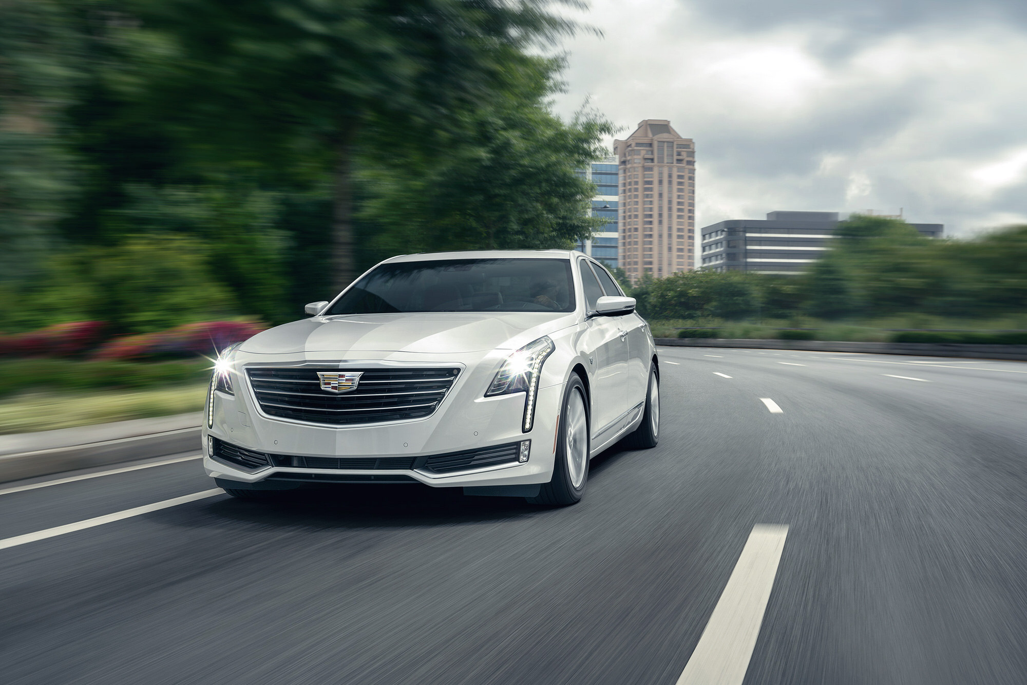 Cadillac CT6 Electric commercial photography