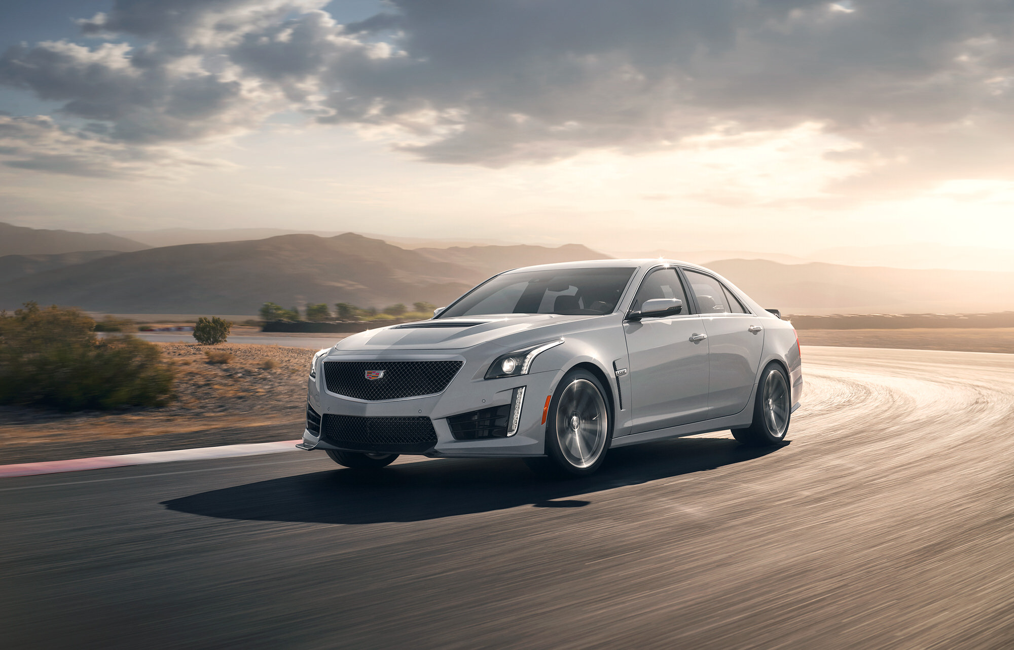 Cadillac CTS-V commercial photography