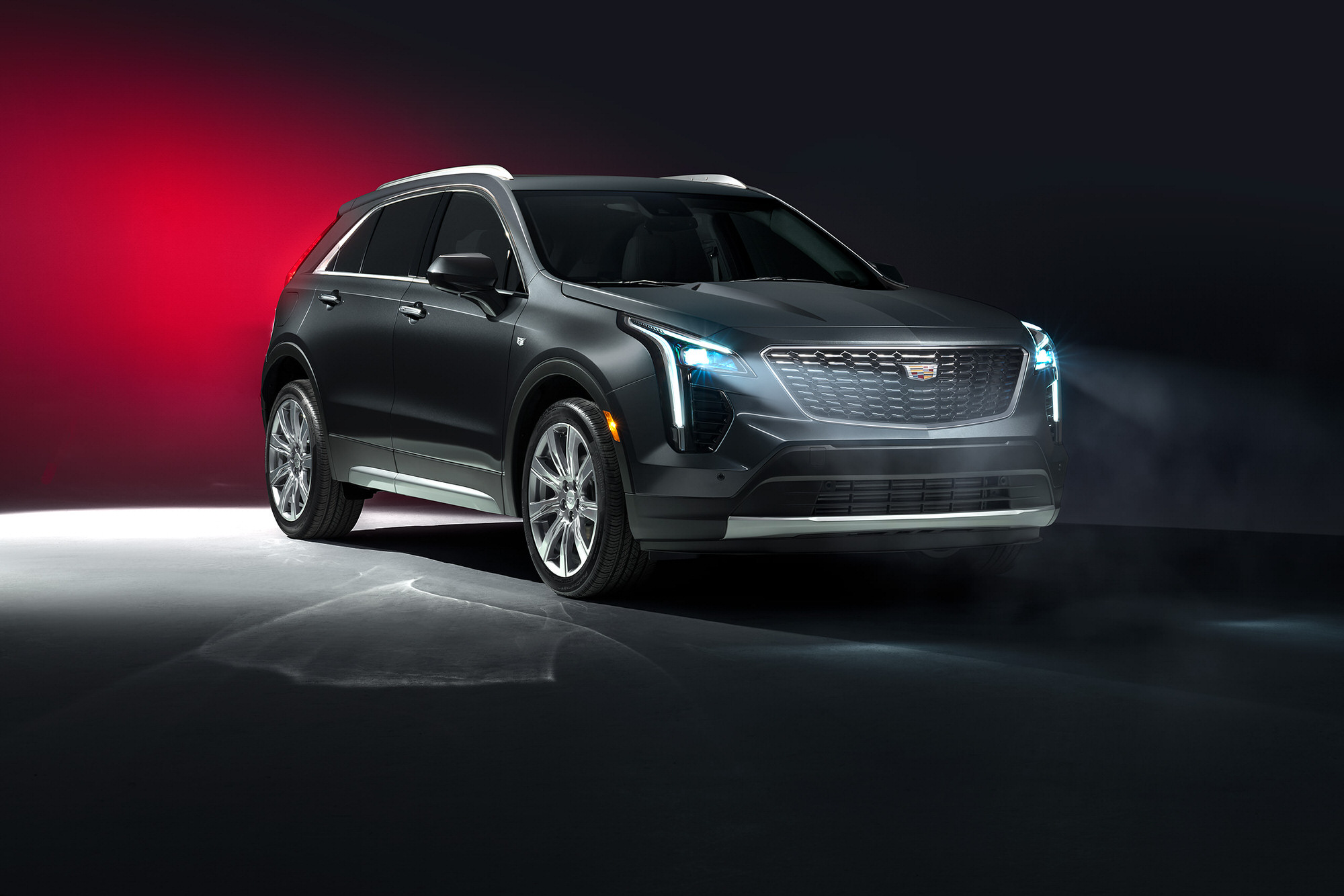 Cadillac XT4 commercial studio photography