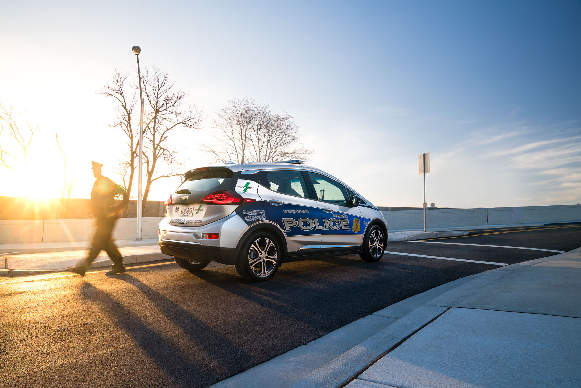 Police Chevrolet Bolt EV from Hyattsville Police Department in Maryland