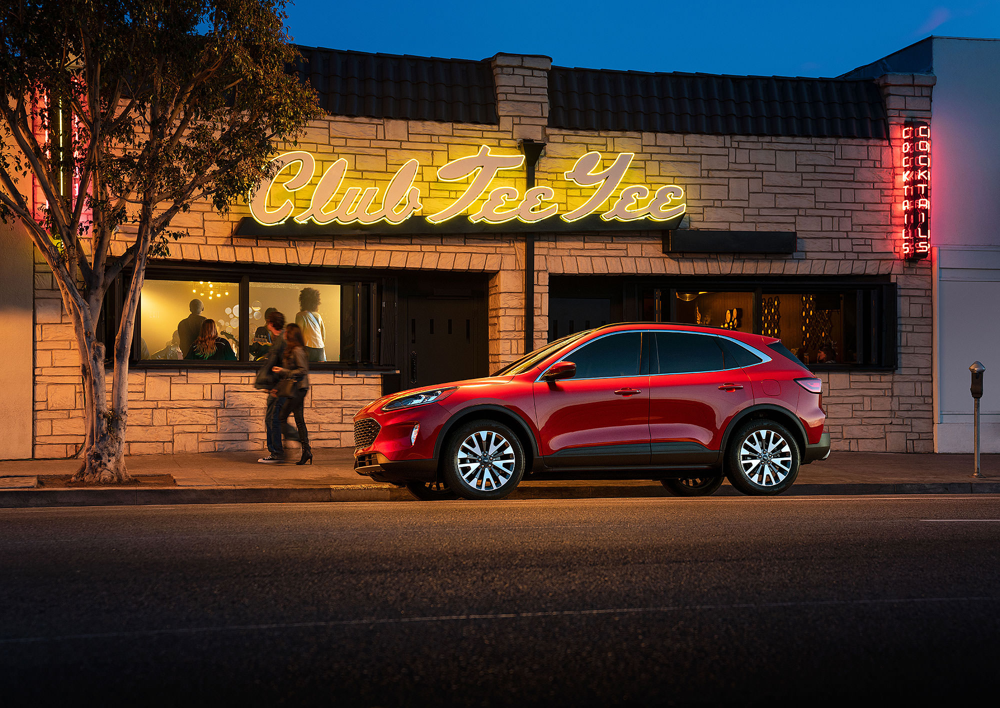 2020 Ford Escape commercial photography in Los Angeles, CA