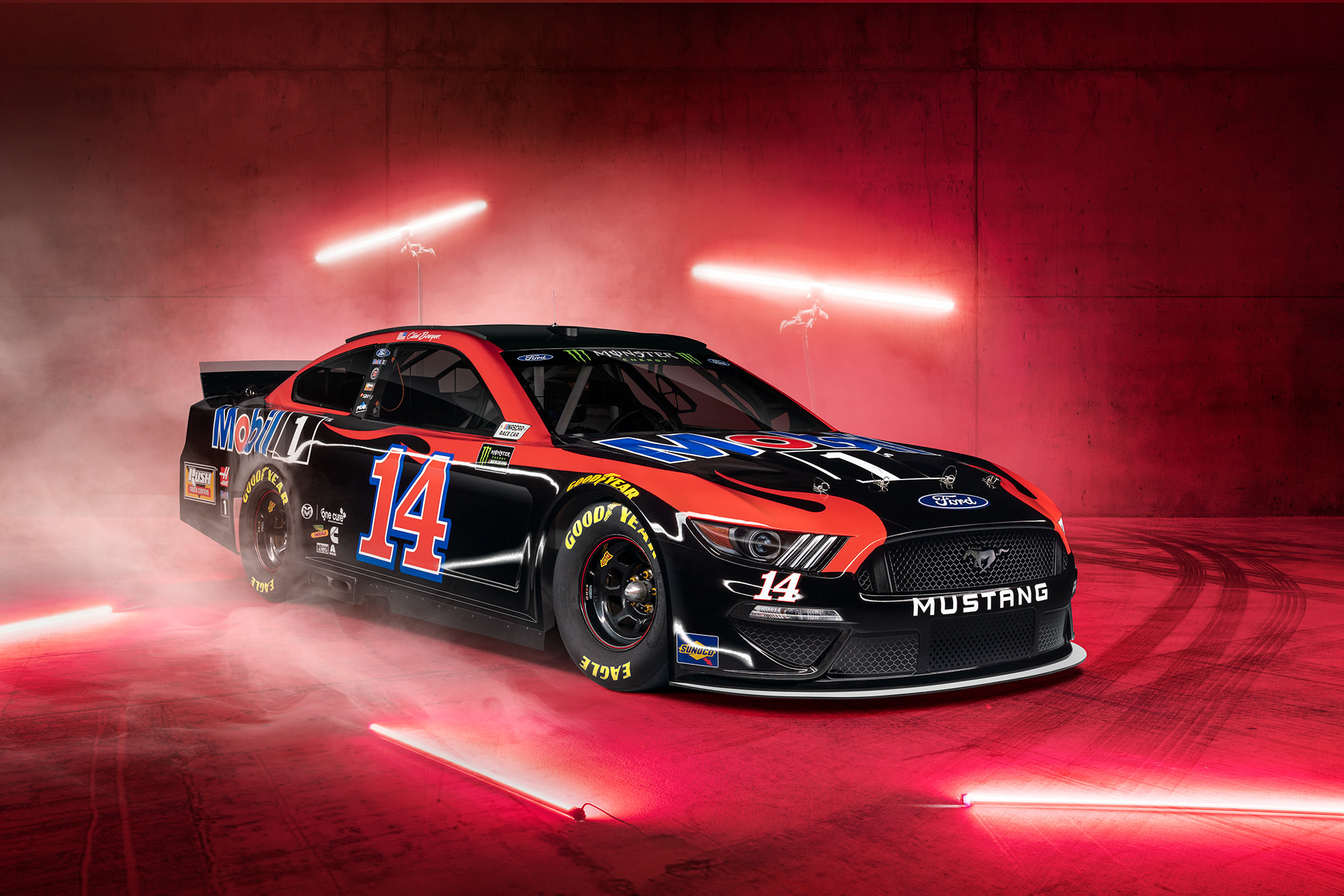 Clint Bowyer Mobil 1 NASCAR commercial photography