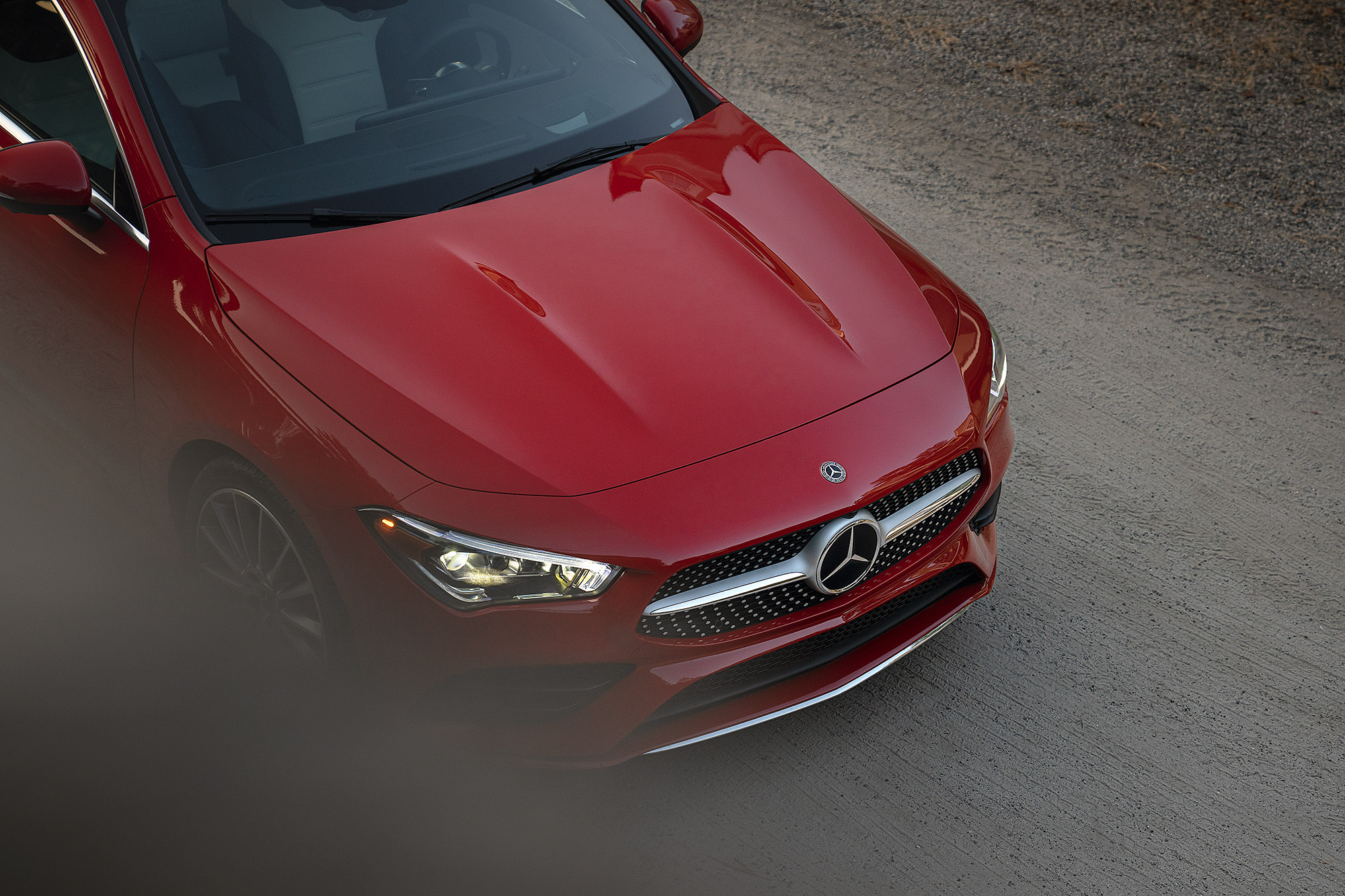 2020 Mercedes-Benz red CLA