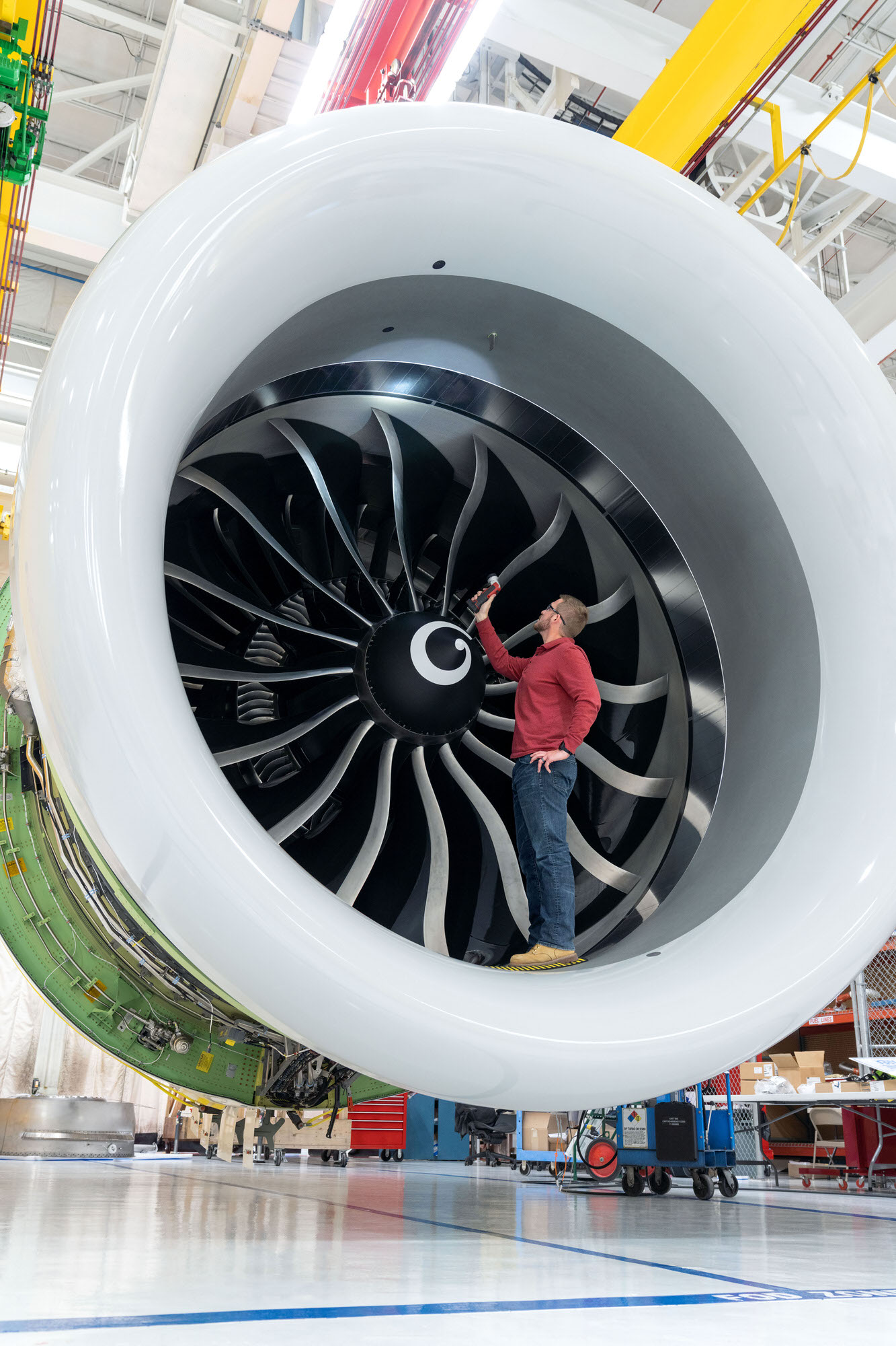 GE9X General Electric Aviation photography in Cincinnati, OH