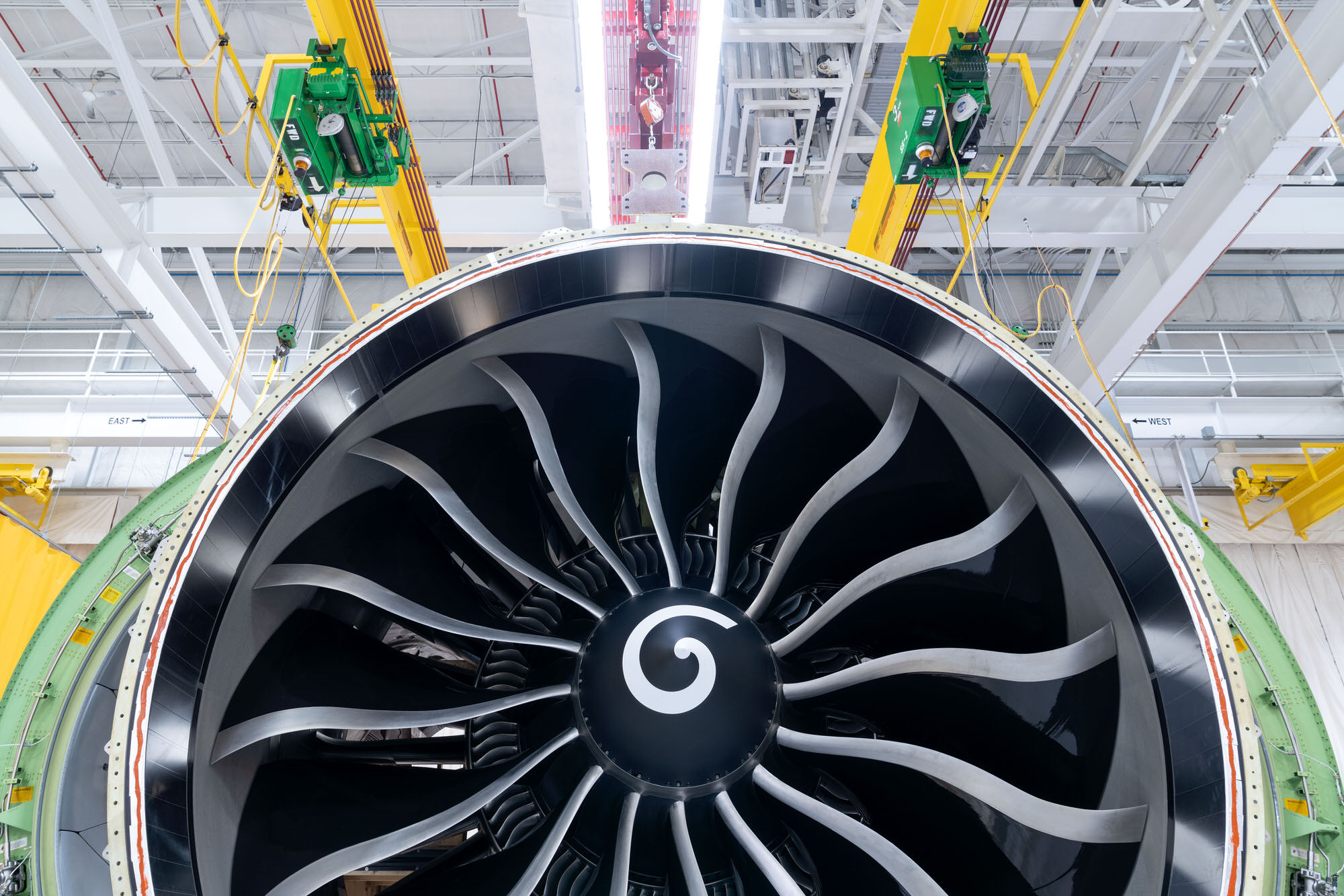 General Electric GE9X Aviation Engine.