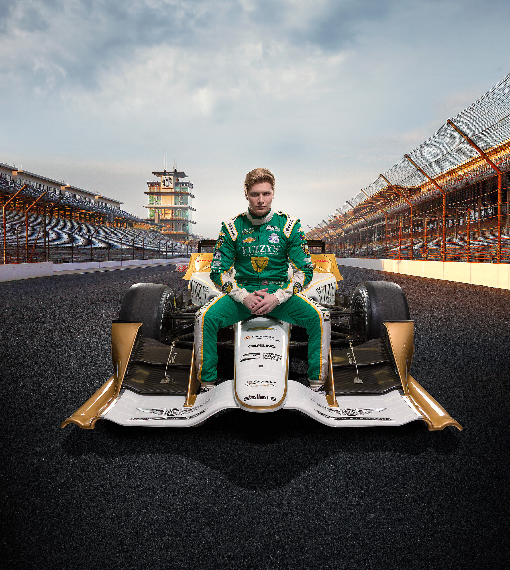 Ed Carpenter Fuzzy