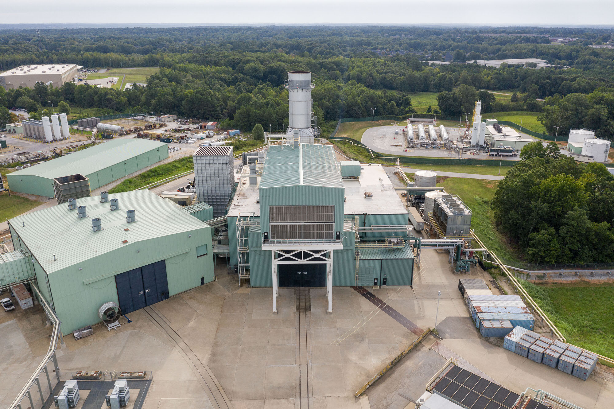 General Electric Gas Turbine testing facility in Greenville, South Carolina