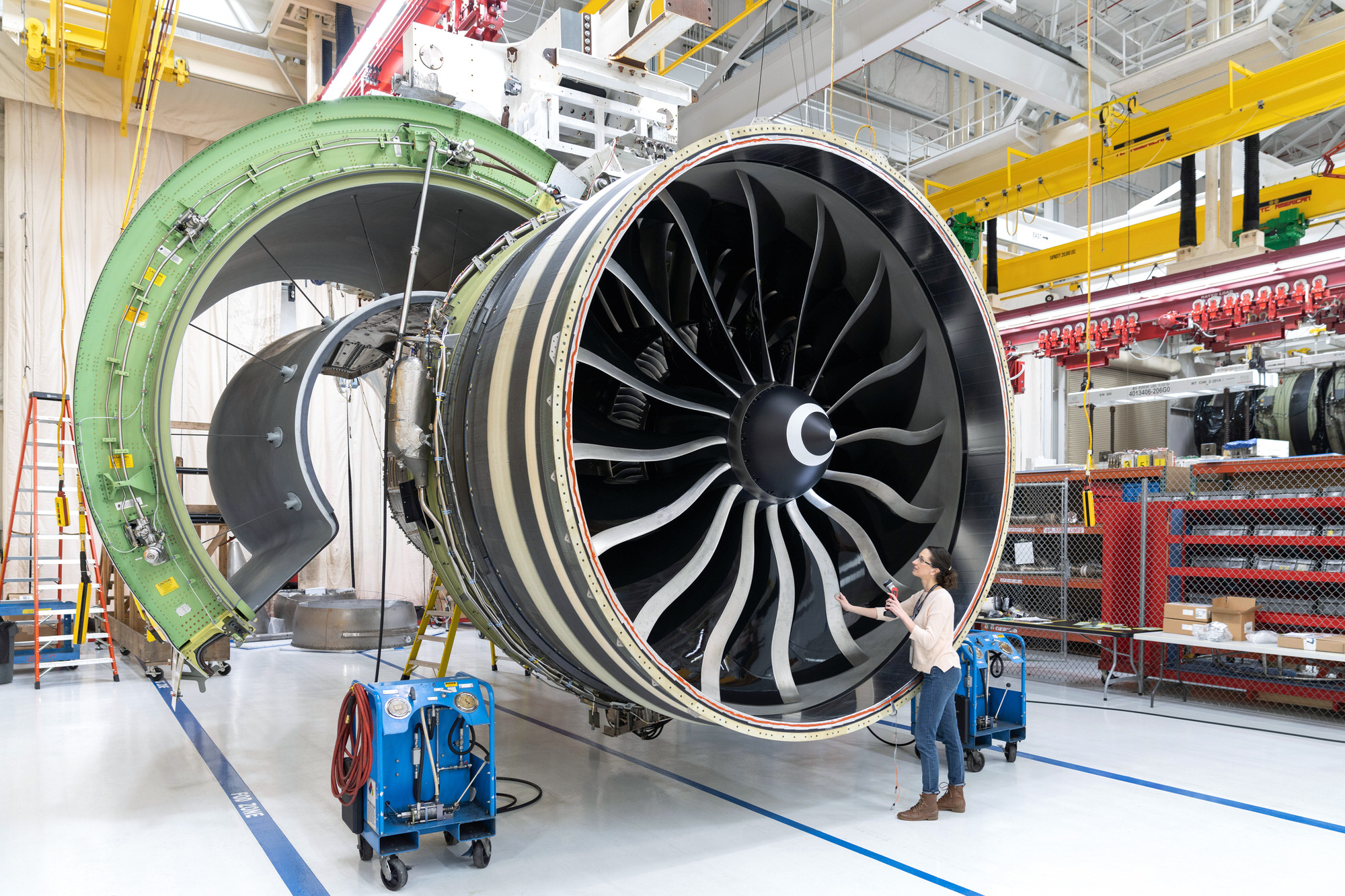 General Electric GE9X Aviation photography in Cincinnati, OH
