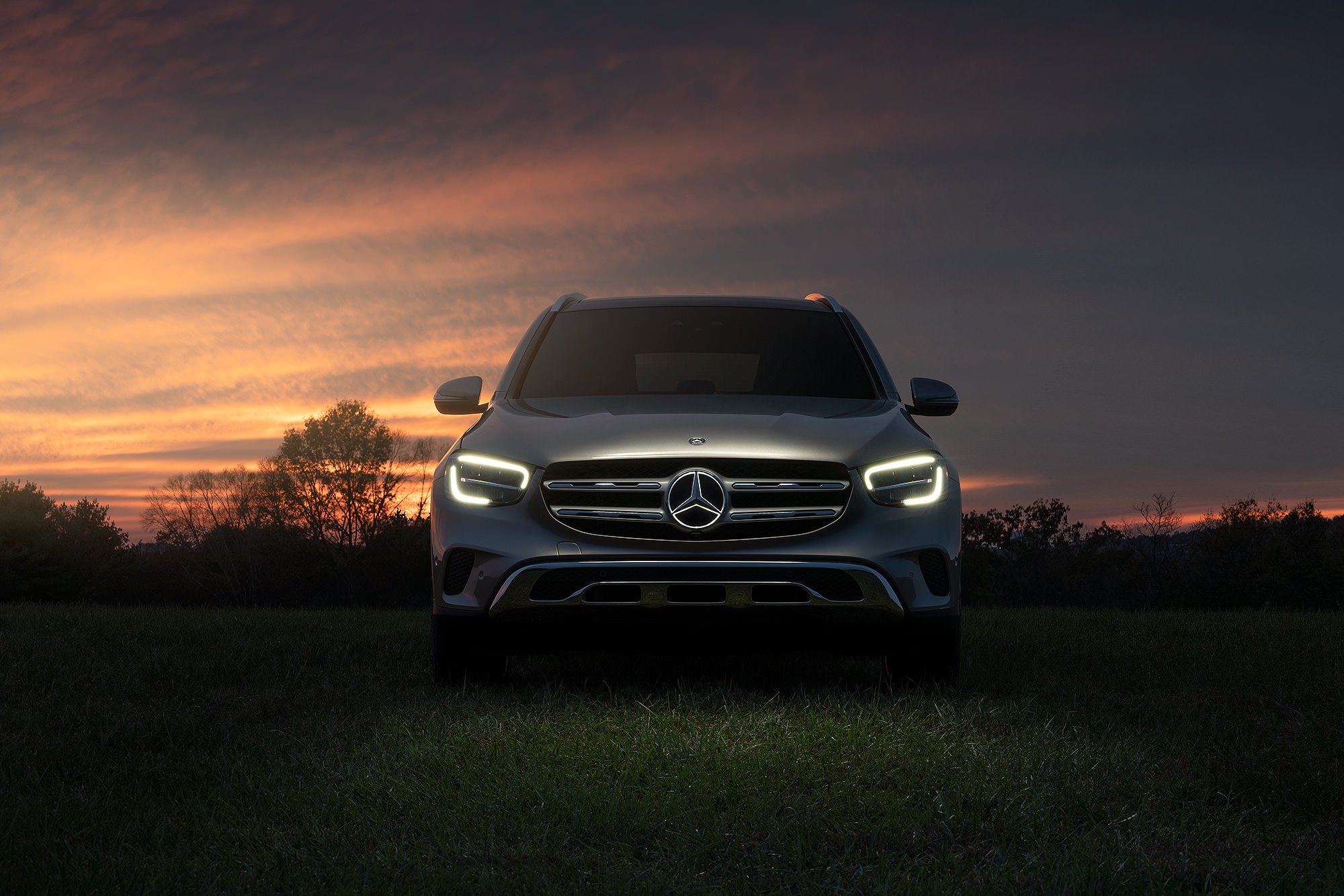 Mercedes-Benz GLC Illuminated Star