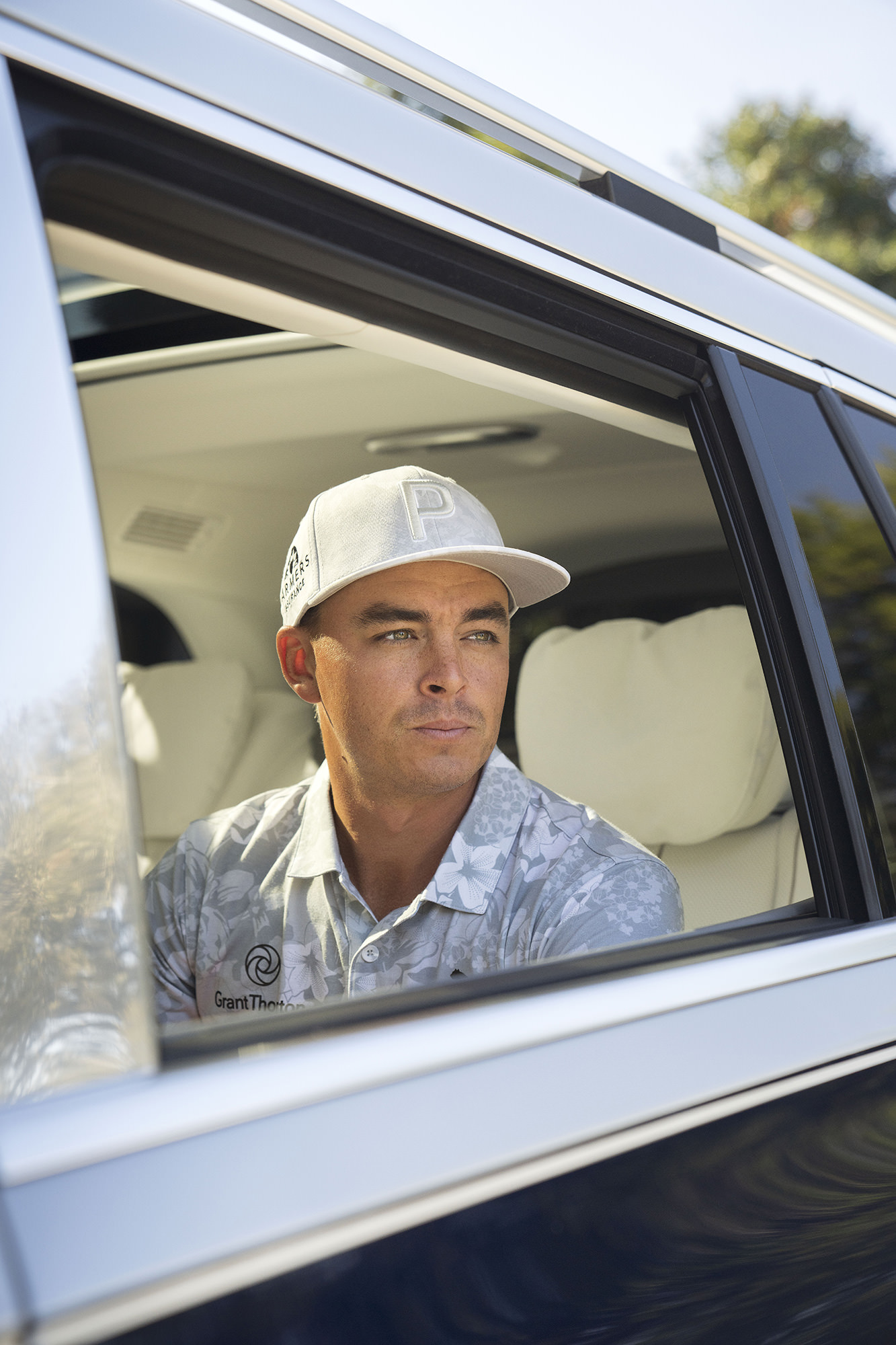 Rickie Fowler in Mercedes-Benz Maybach GLS SUV