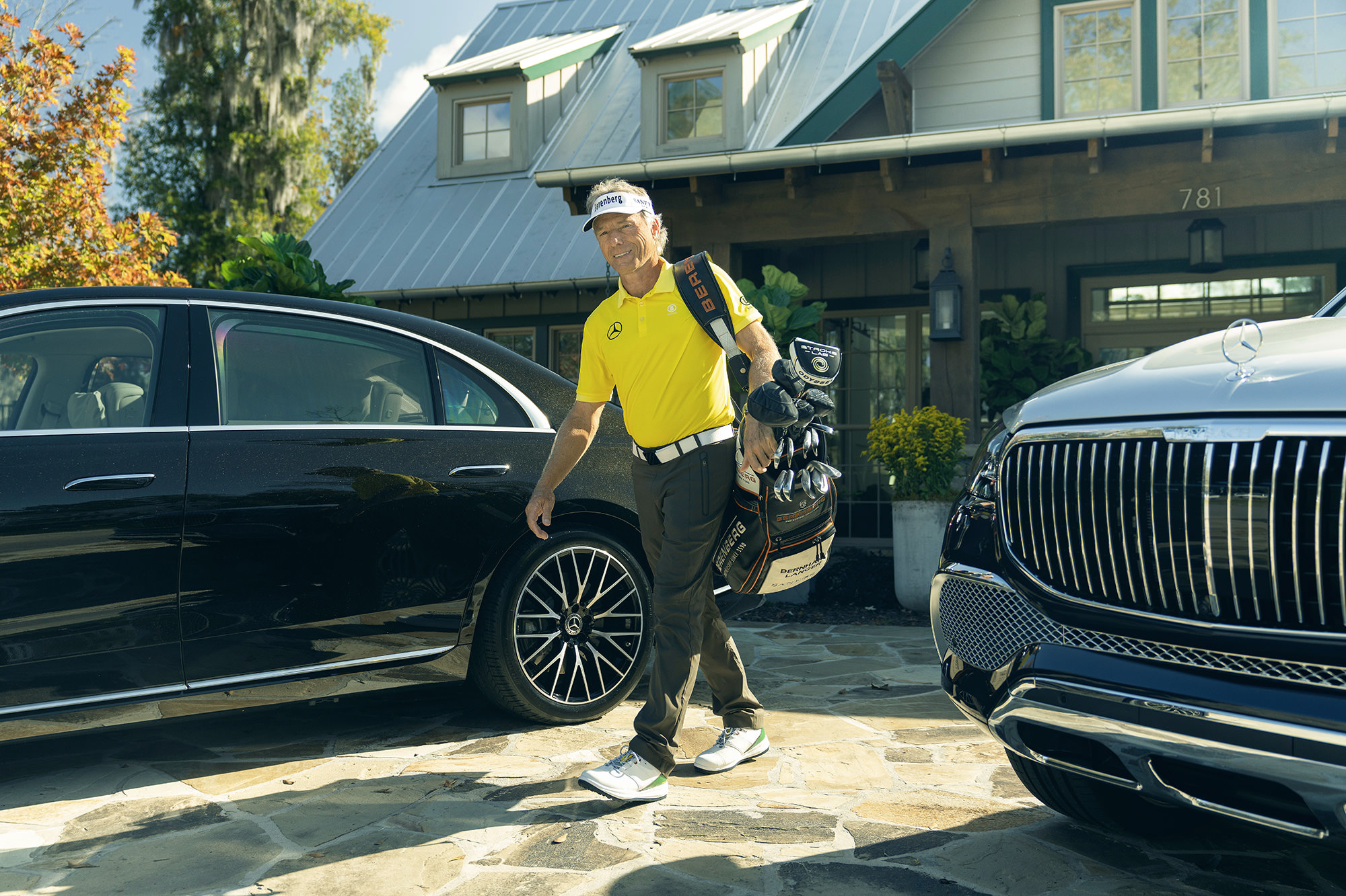 Bernhard Langer for Mercedes-Benz