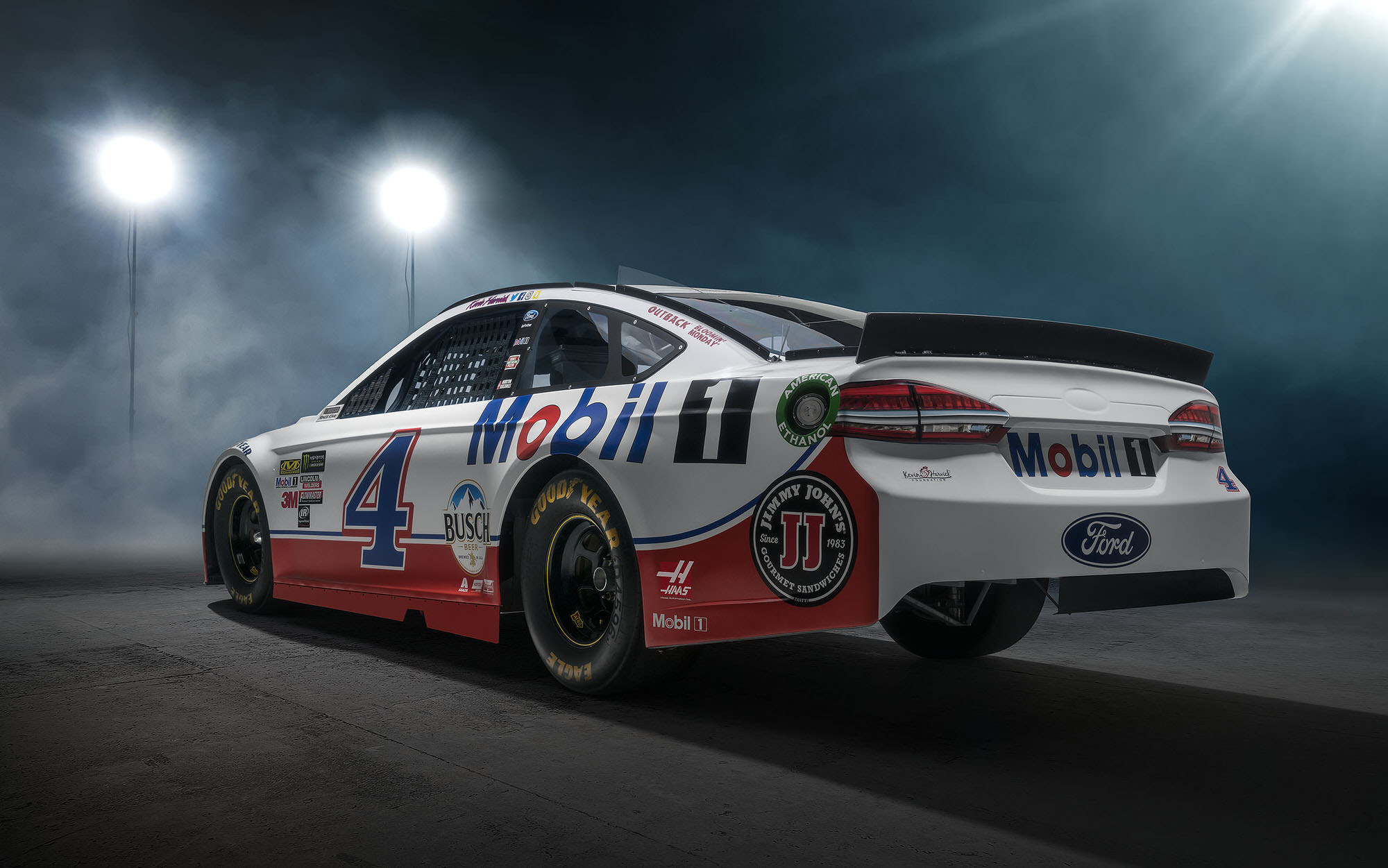 Kevin Harvick Mobil 1 NASCAR commercial photography