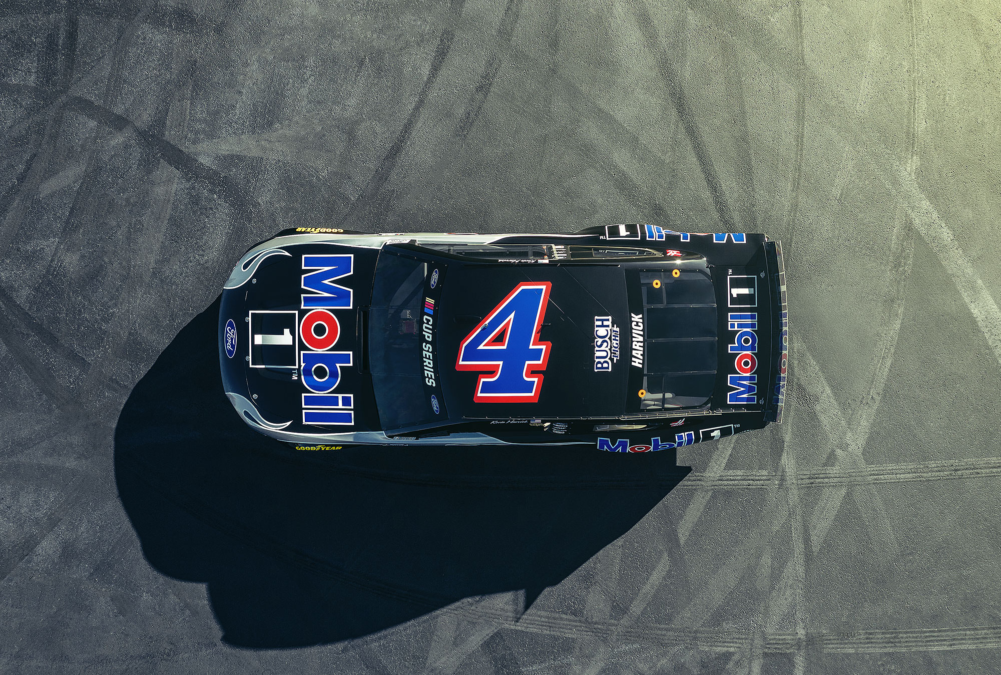 Mobil 1 NASCAR Ford Mustang Clint Bowyer commercial photography