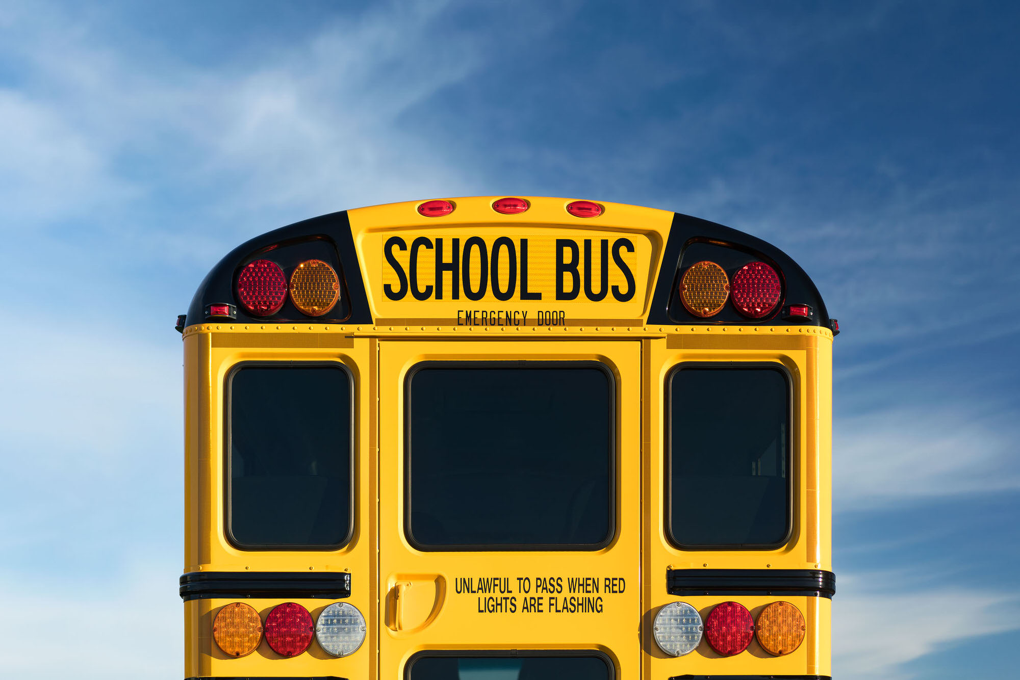 Navistar IC School Bus commercial photography