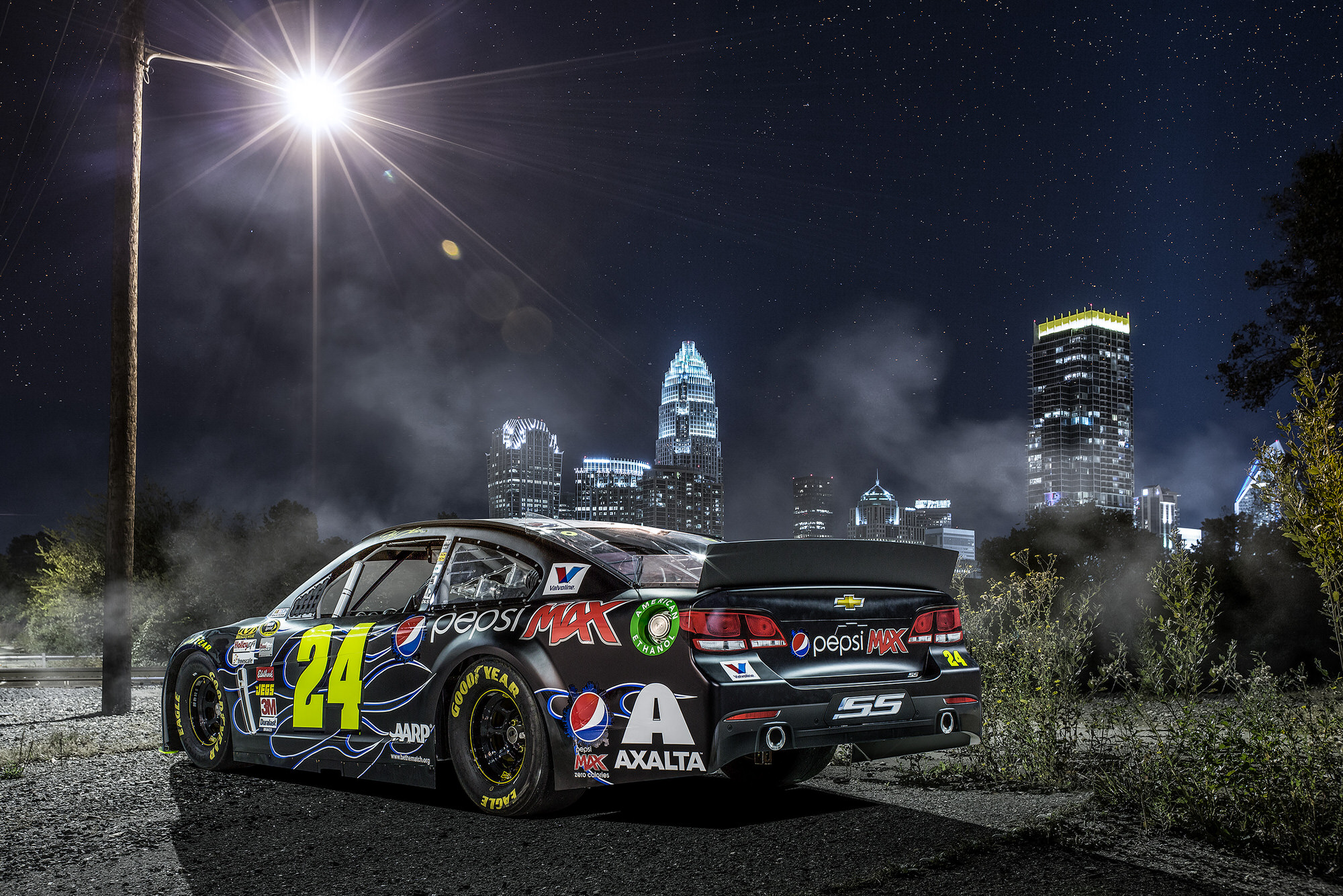 Jeff Gordon Pepsi Max NASCAR commercial advertising photography