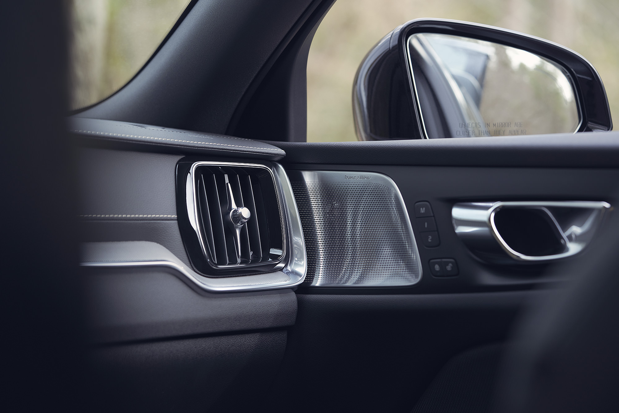 Door details of Volvo V60 T8 Polestar