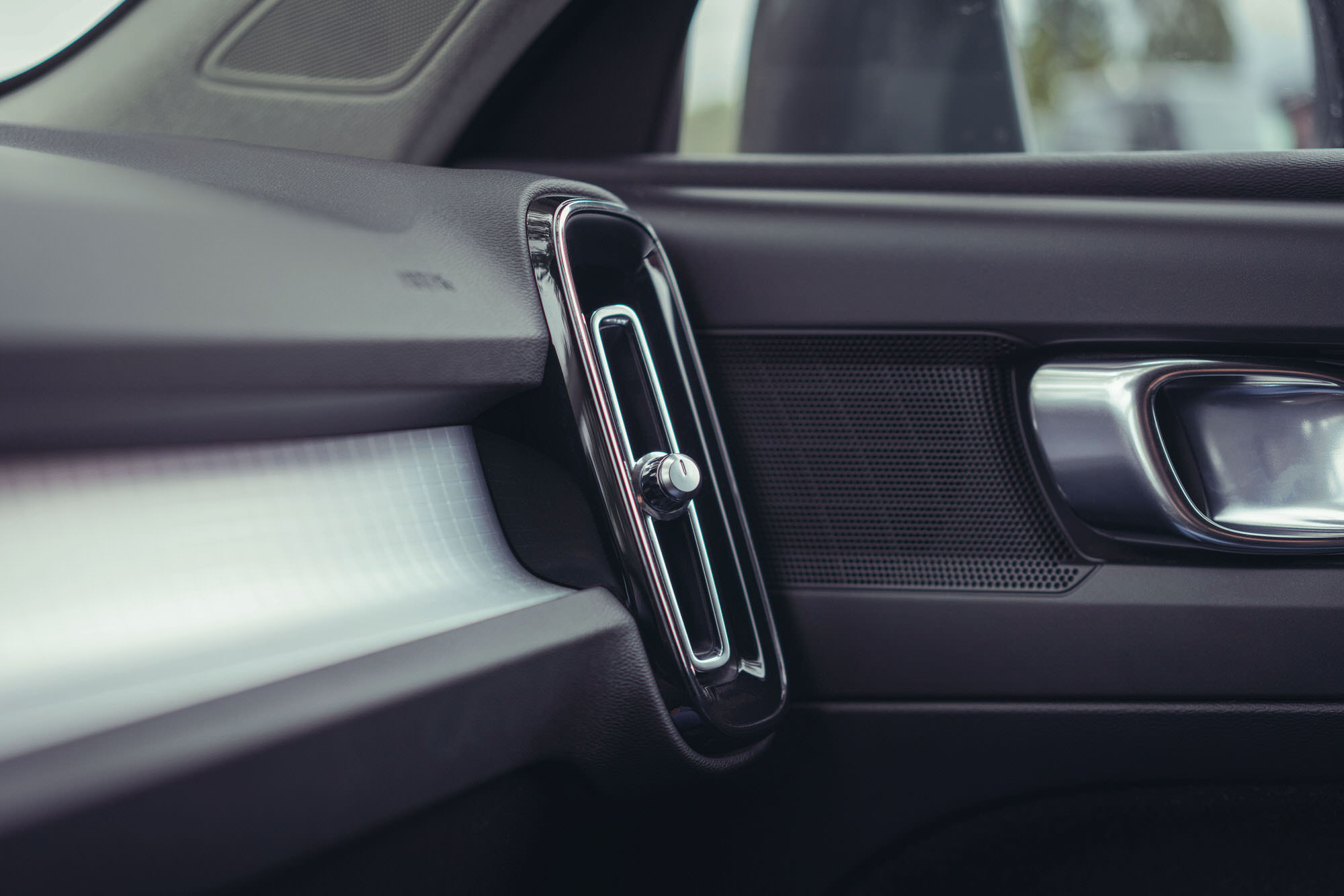 Interior air vent details of Volvo XC40