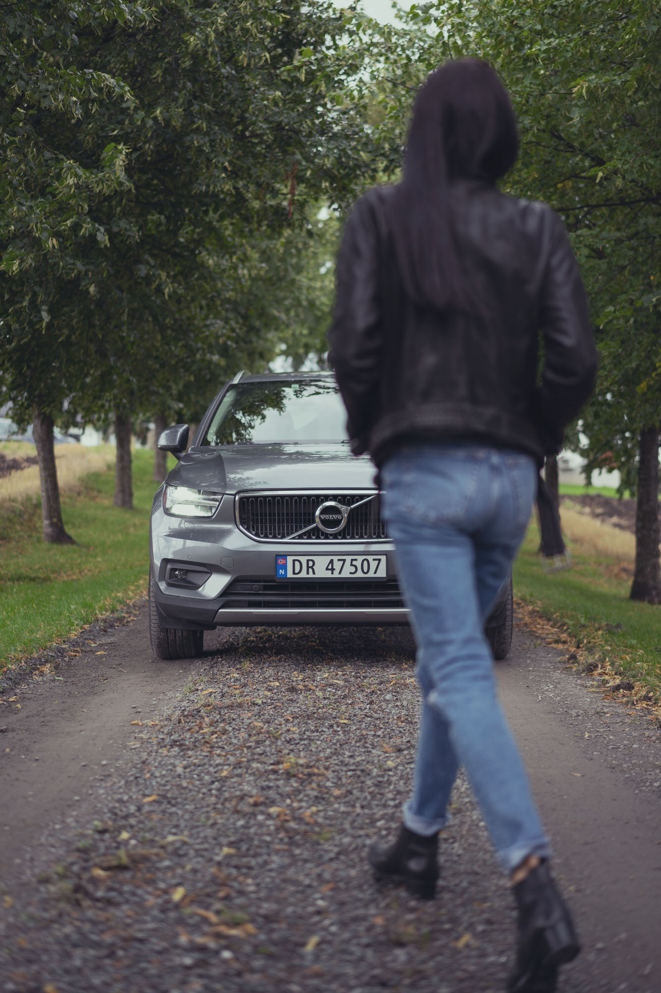 Stepping into the Volvo XC40