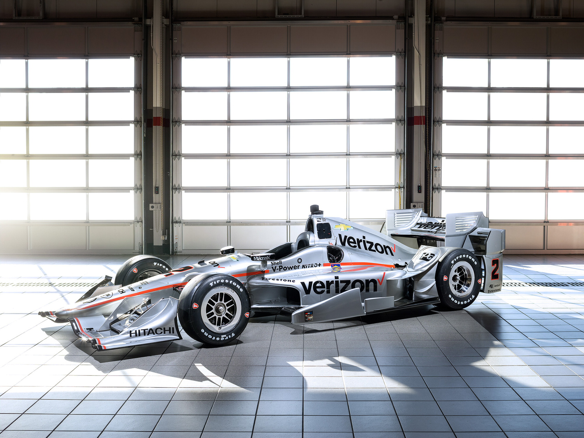 Team Penske Verizon IndyCar driven by Juan Pablo Montoya